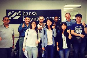 Hansa Language Centre への留学サポート